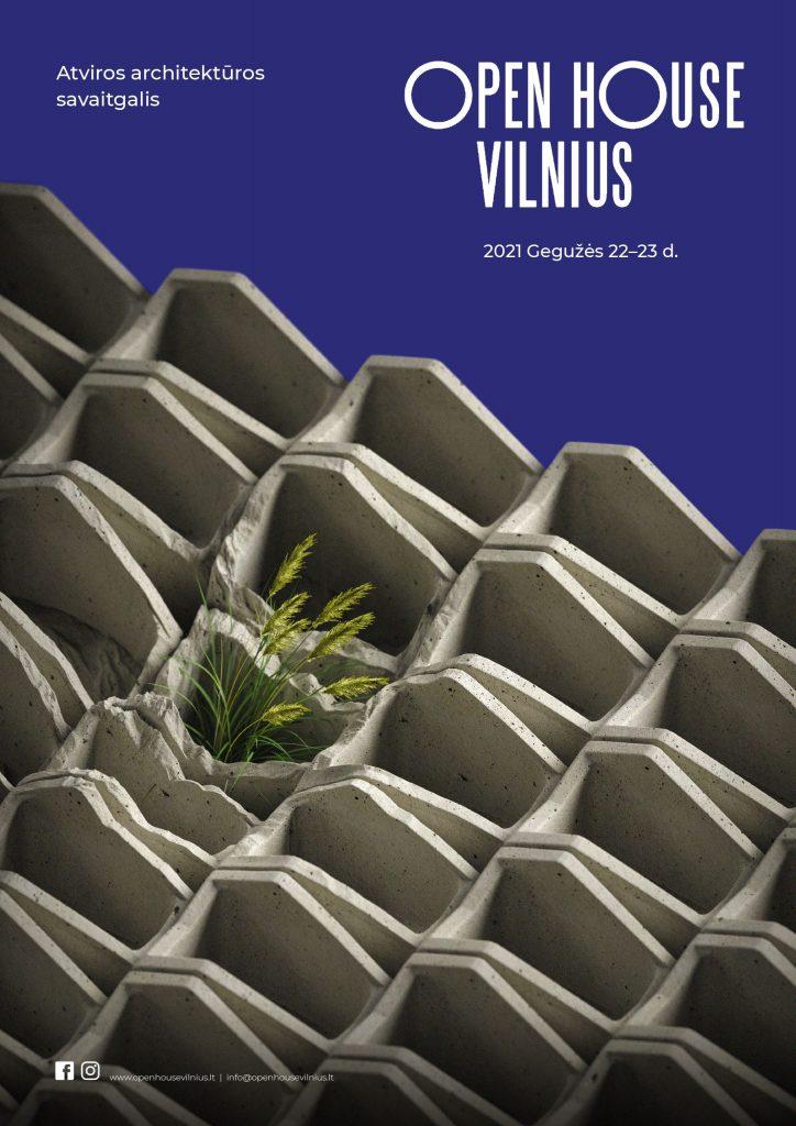 Pijus Cicėnas;  Open House Vilnius; Open House Vilnius plakatas;